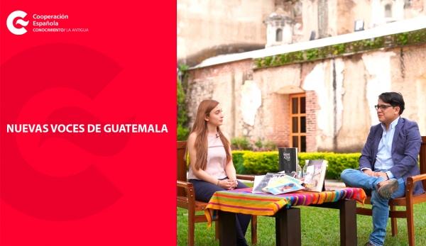 Nuevas Voces de Guatemala, un proyecto impulsado por la Biblioteca del CFCE Antigua